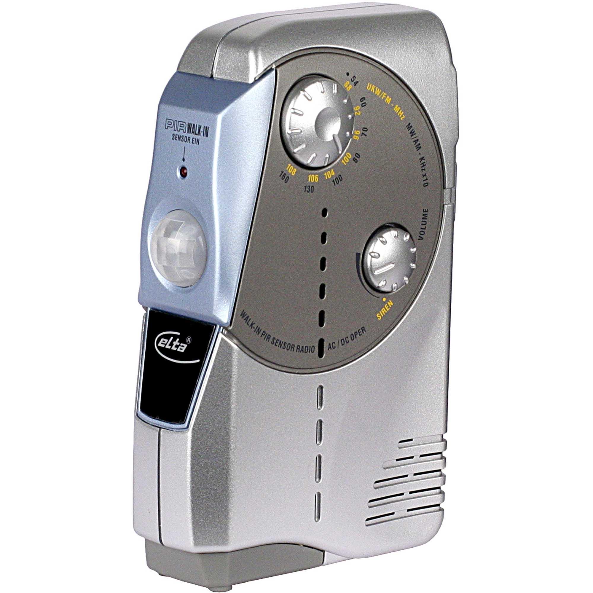 Radio mit Sensor und Bewegungsmelder
