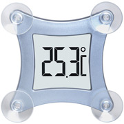 Fensterthermometer Poco