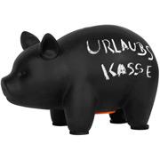 Sparschwein mit Kreidetafel