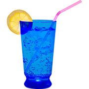 LED Cocktail Glas