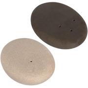 Pfeffer- und Salzstreuer Steine