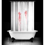 Duschvorhang Blutbad