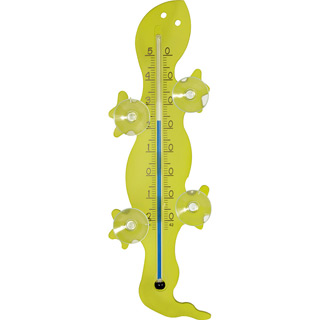 Fensterthermometer Gecko