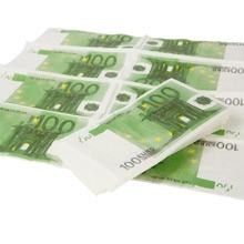 Servietten 100 Euro - Bild 1