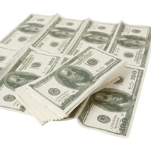 Servietten US Dollar - Bild 1