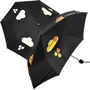 Regenschirm mit Farbwechsel-Grafik