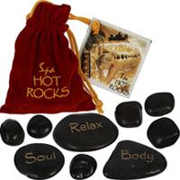 Wellness-Steine Spa Hot Rocks