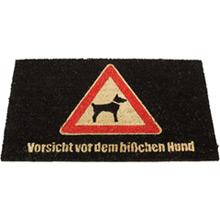 Fußmatte Vorsicht Hund - Bild 1