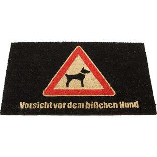 Fußmatte Vorsicht Hund