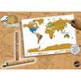Rubbel Poster Weltkarte - Bild 11