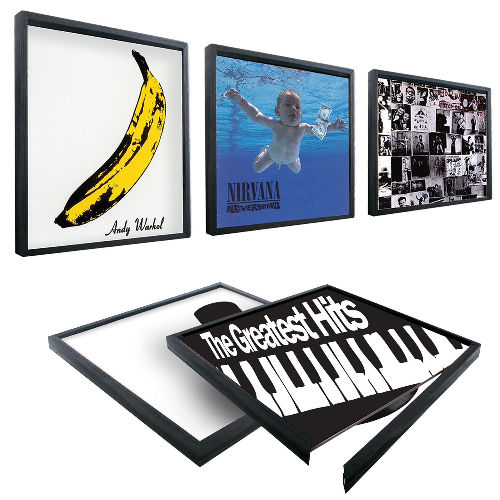 Schallplatten Bilderrahmen (33 cm) - Blitzversand in 6 Std.