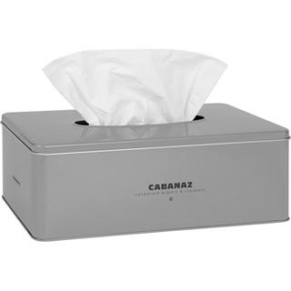 Cabanaz Taschentücher Box Silber