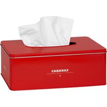 Cabanaz Taschent�cher Box Rot - Bild 1