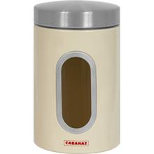 Cabanaz Vorratsdose mit Sichtfenster Vanille - Bild 1
