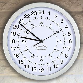 24-Stunden Uhr