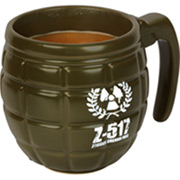 Granatenstarke Kaffeetasse