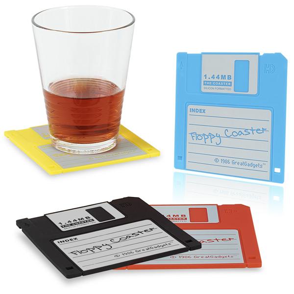 Untersetzer 1.44 MB Floppy Diskette (4-farbig s...