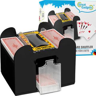Kartenmischmaschine für 6 Decks
