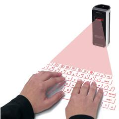 Vergrößerte Ansicht Laser-Tastatur Celluon CL850