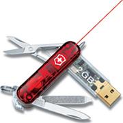 SwissFlash USB Victorinox Laser