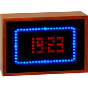 USB Animated LED Clock