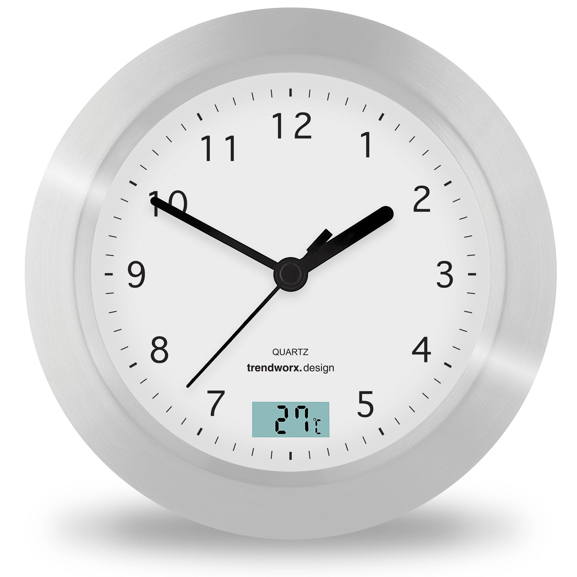 4044_super_zoom Elegantes Uhr Mit Temperaturanzeige Dekorationen