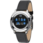 Binary Watch Zerone Black-Blue
