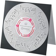 Mathmos Candle Card Happy Happy - Bild 1