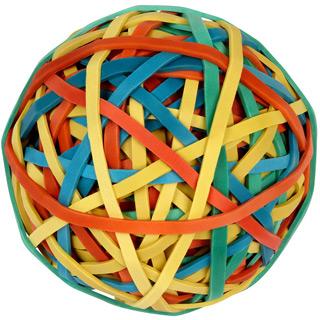 Gummiband Ball