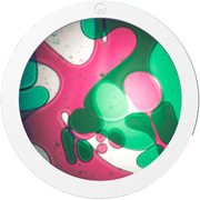 Ölscheibe Violett/Grün für Mathmos Space Projector