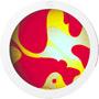 Ölscheibe Gelb/Rot für Mathmos Space Projector - Bild 1
