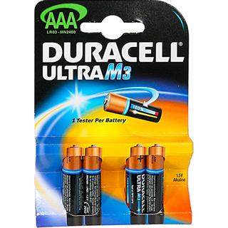 Batterie Duracell Ultra AAA (4er)