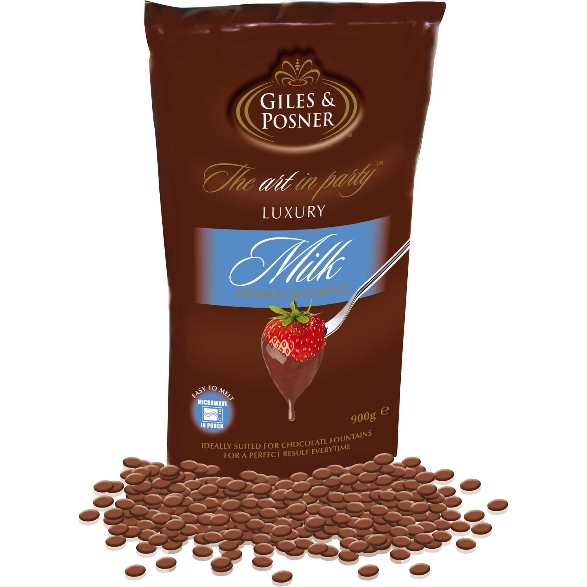 Schokolade Für Schokobrunnen Vollmilch 900g