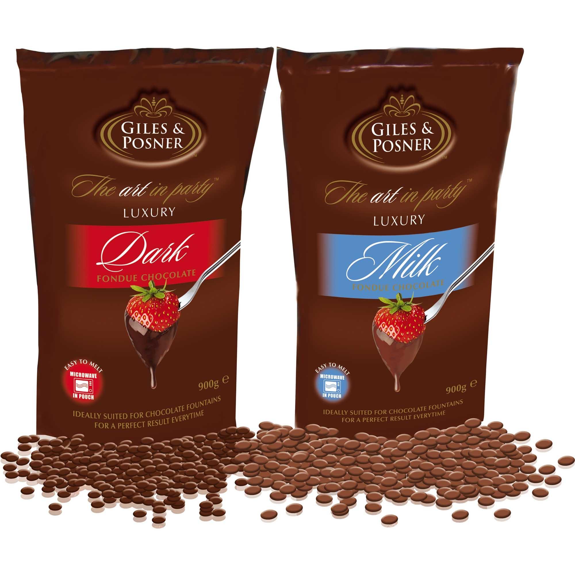 Schokolade Für Schokobrunnen Vollmilch Zartbitter 1800g