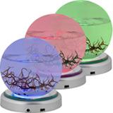 LED-Plattenst�nder f�r kleine EcoSphere Kugel