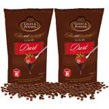 Schokolade für Schokobrunnen Zartbitter Doppelpack (1800g)