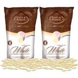 Schokolade für Schokobrunnen Weiß Doppelpack (900g)