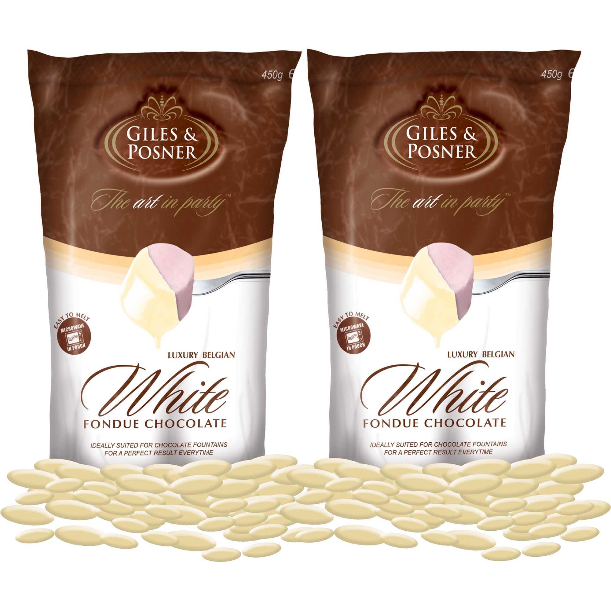 Schokolade Für Schokobrunnen Weiß Doppelpack 900g