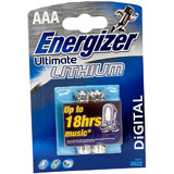 Batterie Energizer Lithium AAA (2er)