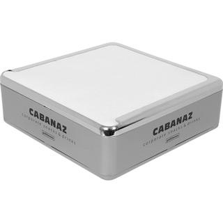 Cabanaz Serviettenspender Quadrat Silber