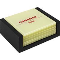 Cabanaz Coasters Vanille